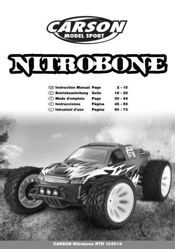 CARSON Nitrobone RTR 103014 - Tamiya
