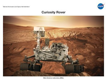 Curiosity Rover - Mars Exploration Program - NASA