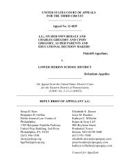 Reply Brief of Appellant A.G. - Public Interest Law Center of ...