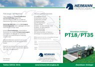 Absenkanhänger PT18/PT35(0,64 MB) - Heimann