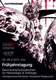 Programm - OeGHO