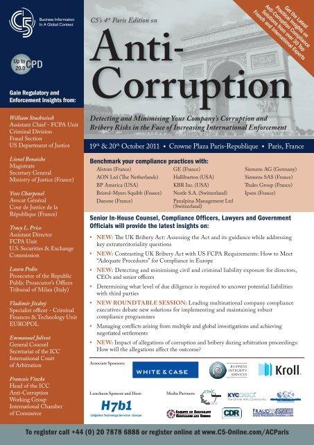 Anti − Corruption - C5