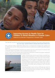 Improving Access to Health Care for Children in Street Situation in ...