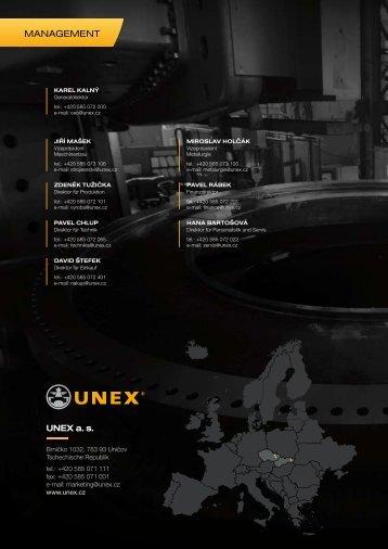 Profil der Gesellschaft - Unex