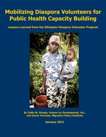 Mobilizing Diaspora Volunteers for Public Health Capacity Building