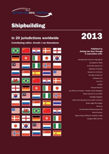 Shipbuilding 2013 - Watson, Farley & Williams