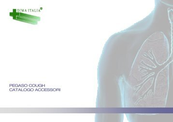 PEGASO COUGH CATALOGO ACCESSORI - DIMA Italia Srl