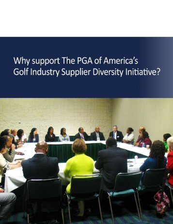 2010 PGA Diverse Supplier Call to Action - African American ...