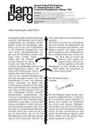 Gesamtausgabe flamberg Herbst 3/2006 Druck - Pfadi Flamberg