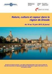 Nature, culture et vapeur dans la région de Dresde du ... - SERVRail