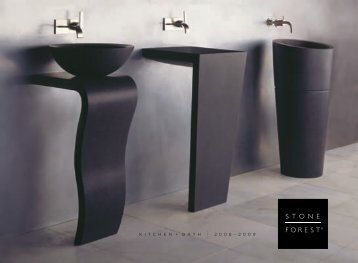 2010 stone forest bath catalog – pdf - Hot2Cold