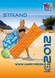 Strandmatte, ca. 180 x 60 cm, weiches - Happy People GmbH & Co ...