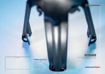 Datenblatt Spotclip - Hellermanntyton