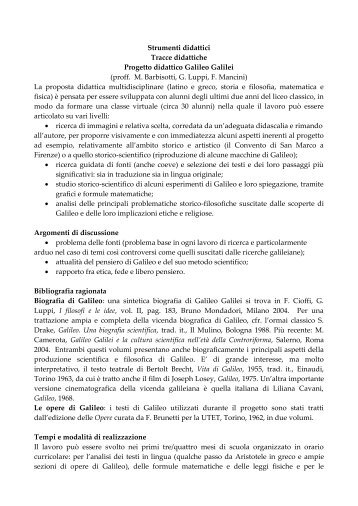 Materiali progetto - Biblioteca europea d'informazione e cultura