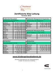 FPF_FIP_FES_Termine 2014 - Akademie für Kindergarten, Kita und ...