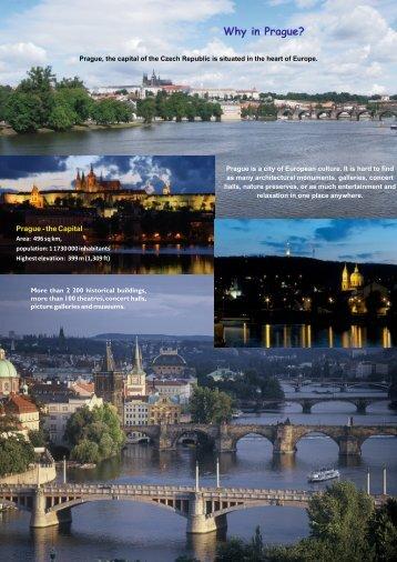Why in Prague?
