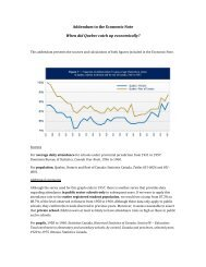 Addendum to the Economic Note When did Quebec catch up ... - IEDM