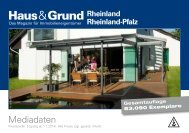 Haus und Grund RL und RLP 2014 - corps. Corporate Publishing ...