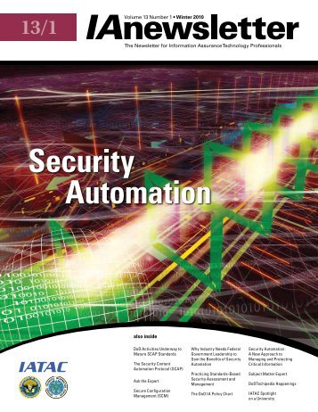 Security Automation - IAC - Defense Technical Information Center