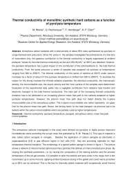 Thermal conductivity of amorphous carbon as a ... - thermophysics.ru