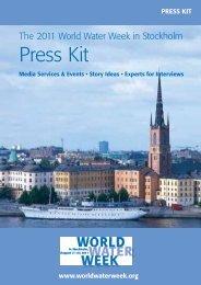 Press Kit - World Water Week