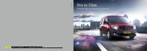 Den ny Citan. - Mercedes-Benz Danmark