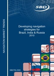 Developing navigation strategies for Brazil, India & Russia - SBD
