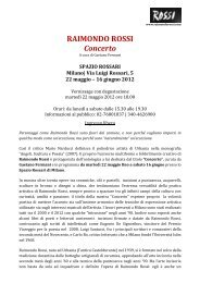Comunicato Stampa - Studio De Angelis