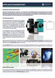APPLIKATIONSREPORT - AICON 3D Systems