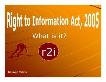 Right to Information Act, 2005_28.09.2010 Mr. Narayan Varma ...