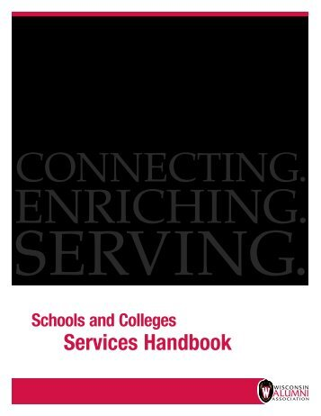 Download WAA's Schools and Colleges Services Handbook as a PDF