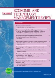 economic and technology management review - e-ETMR - mardi