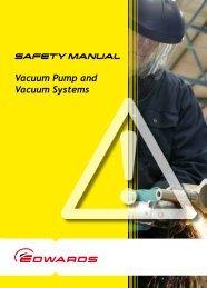 Vacuum safety booklet - Edwards