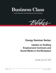 Update On Drafting Employment Contracts And Social Media