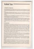 Kabul Spy Manual - Virtual Apple - Page 2