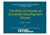 The Role of Airports as Economic Development Drivers