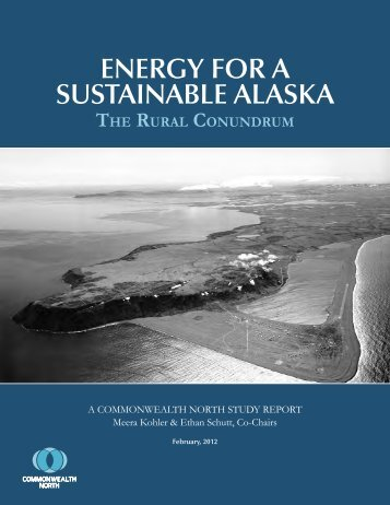 recent study by Commonwealth North - Renewable Energy Alaska ...