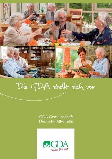 Unser Leitbild - GDA Gemeinschaft Deutsche Altenhilfe GmbH