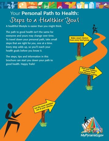 Steps to a Healthier You! - Center for Nutrition Policy and Promotion