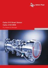 Carbo 510 Smart Sensor Carbo 2100 MVE