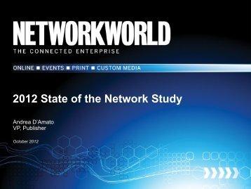 Presentation Title here - Network World