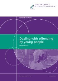Dealing with offending by young people (PDF | 965 ... - Audit Scotland
