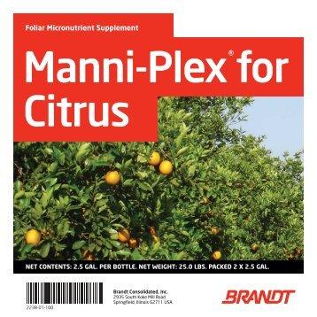 Manni-Plex for Citrus - Brandt