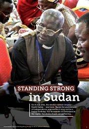 Standing Strong in Sudan - Open Doors