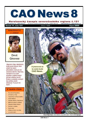 CAO News - Labské pískovce
