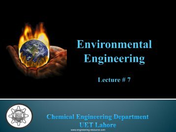 Global Warming - the engineering resource
