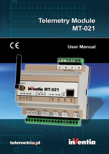 Telemetry Module MT-021 User Manual