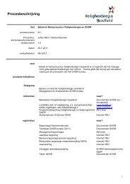 Procesbeschrijving - Veiligheidsregio IJsselland