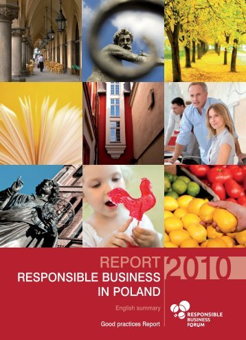 Good practices Report - Forum Odpowiedzialnego Biznesu