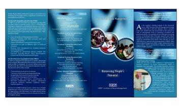 IRM brochure.pdf - Institute of Rural Management